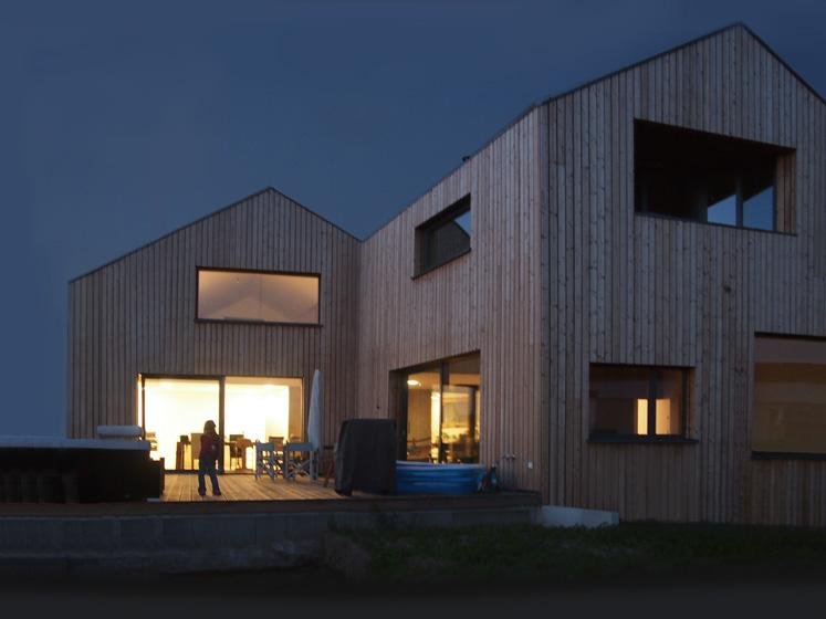 wohnhaus bei frankfurt iselin architektur. Black Bedroom Furniture Sets. Home Design Ideas