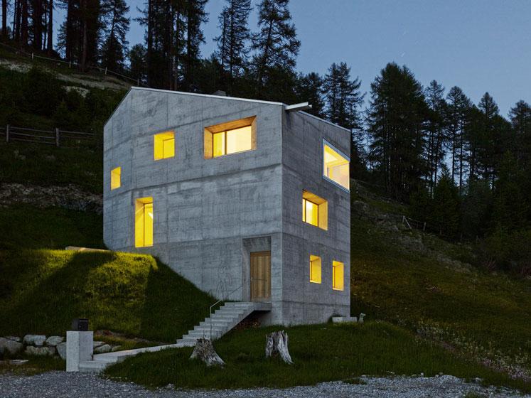 Ferienhaus l iselin architektur - Ferienhaus architektur ...